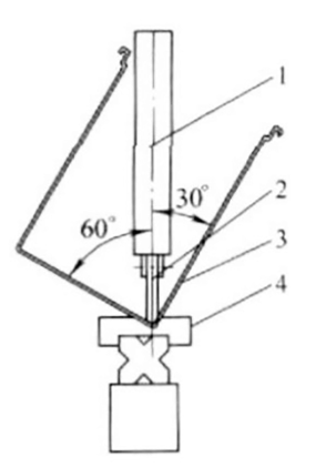 Fig. 6 The bending upper and lower die