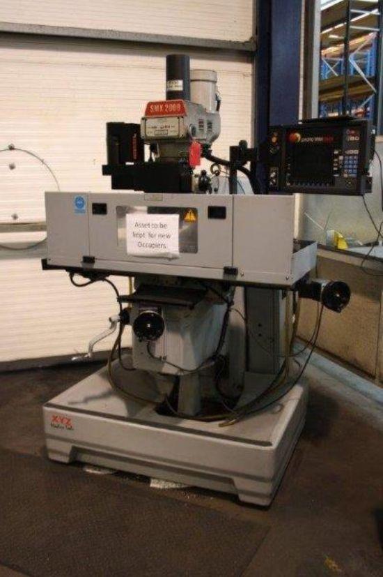 Xyz Smx 2000 Bed Milling Machine For Sale Machinery