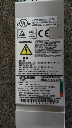 #126 - Power Supply MDS-C1-V1-20 (102)