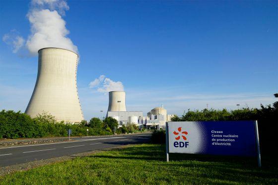 journée de l'industrie électrique EDF: centrale nucléaire de civeau