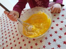 préparation gâteau au yaourt