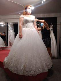 robe de mariée personnalisée