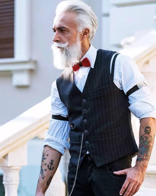40 Modest Grey Beard Styles For Men Machovibes