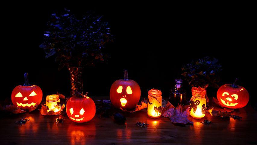 Décoration d'Halloween «spéciale bougies» + Concours