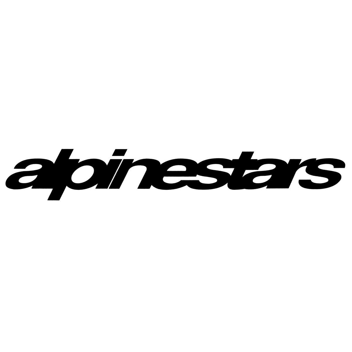 Alpinestars Van Sticker Cut Astars Black Large