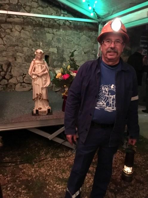 Sainte Barbe au musée de la mine de Gréasque