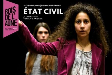 Etat civil- Théâtre du Bois de l'Aune Aix en Provence