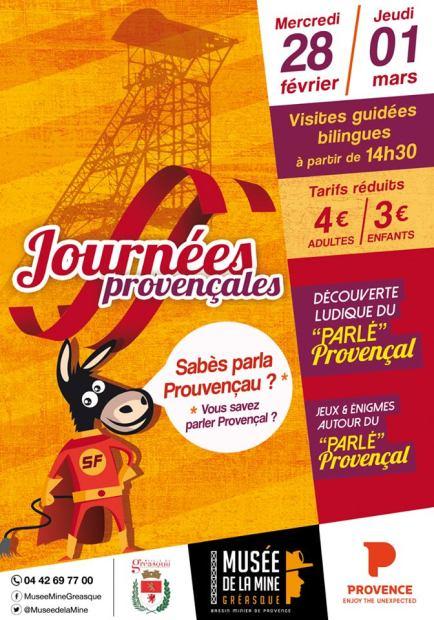 Journées provençales - Musée de la mine Gréasque