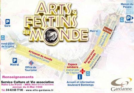 Plan Arts et Festins du monde