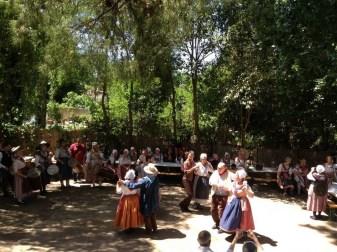 Transhumance Aix les Milles danses provençales