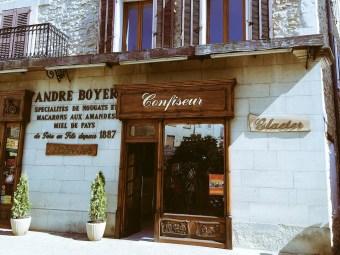 André Boyer confiseur Sault
