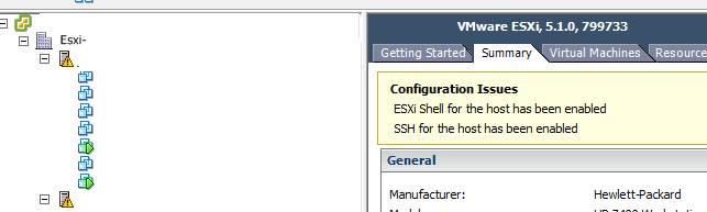 Alarme-SSH-Shell-Enable