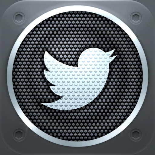 twitter music icona