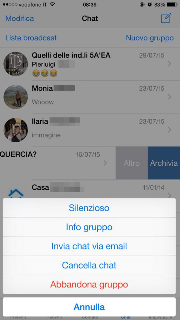 whatsapp per ios