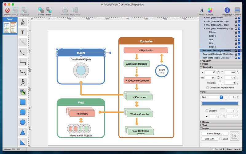 Shapes Lapp Per Creare Al Volo Diagrammi E Schemi Su Mac