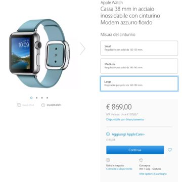 Apple Watch esaurito 5