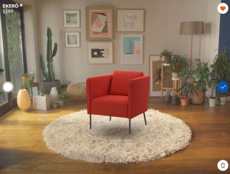Ikea Place Sbarca In Italia Lapp Per Arredare La Casa In