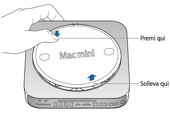 Come installare la RAM nel mac mini