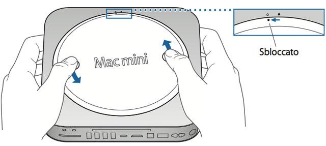 Montare RAM nel Mac mini lento