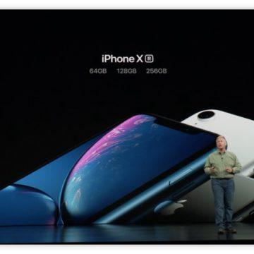 iPhone Xr presentato: sei colori e camera con sfocato