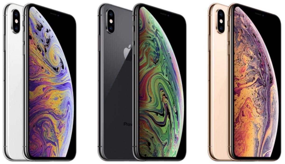 sfondi iPhone XS e XS Max -foto gamma iPhone XS con sfondi