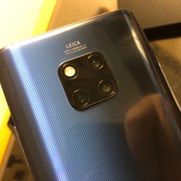 Huawei Mate 20 Pro, prime foto con la tripla fotocamera