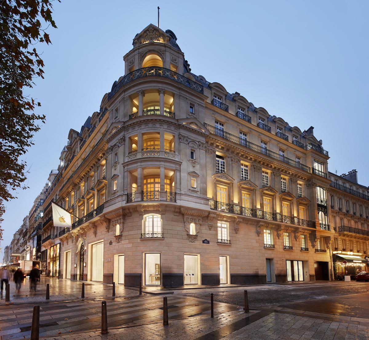 Apple Store Champs-Élysées: un omaggio alla storia di Parigi e alla creatività