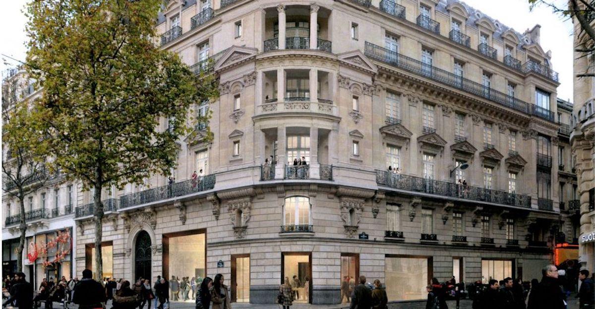 Apple Store Champs-Élysées foto apertura 18 novembre 2018
