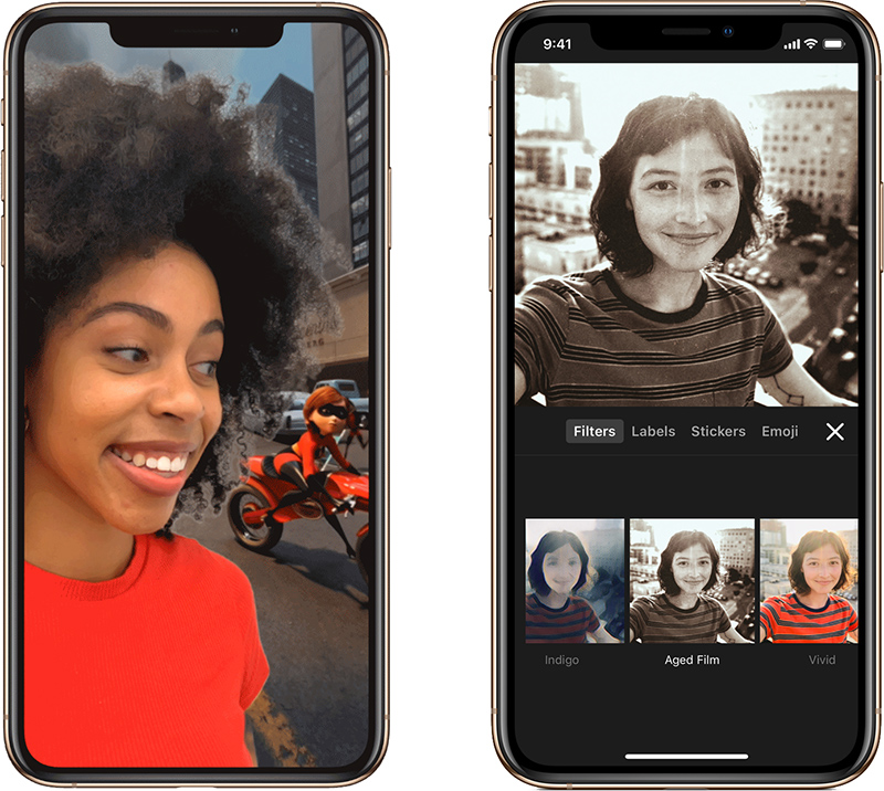 """Clip di Apple offre nuovi filtri, scene e adesivi e diventa """"Incredibile"""""""