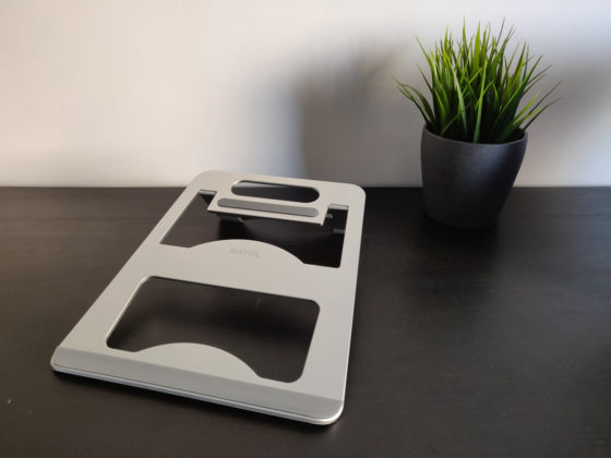 Recensione Natol, il supporto per portatili in alluminio stile Mac