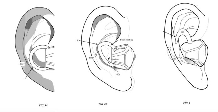Apple ha brevettato auricolari interscambiabili con funzionalità biometriche