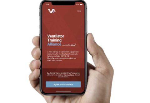 L'app Ventilator Training Alliance per l'addestramento con la ventilazione polmonare