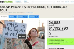 Amanda Palmer, Kickstarter, Think Like a Rockstar