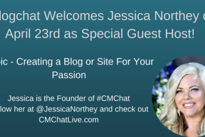 Jessica Northey joins #blogchat