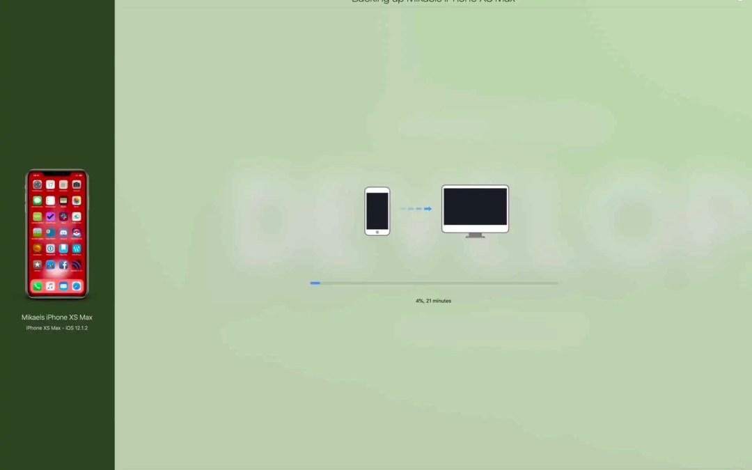Macken X kollar in: iMazing har allt det iTunes borde ha haft