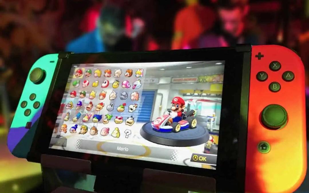 Nintendo jobbar på två nya modeller av Nintendo Switch