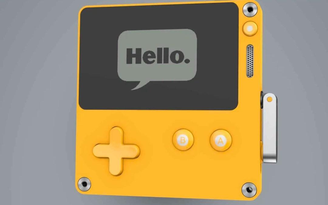 Så här ser den ut, Panics nya spelkonsol, Playdate