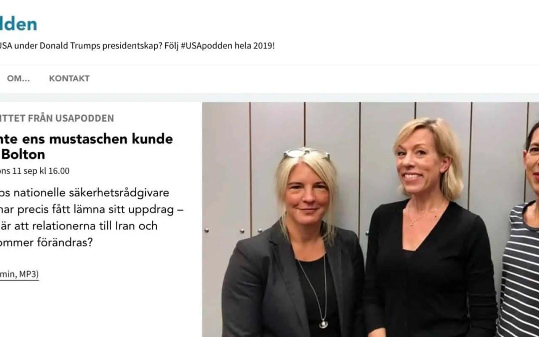 Podtipset: Sveriges Radios USA-podd