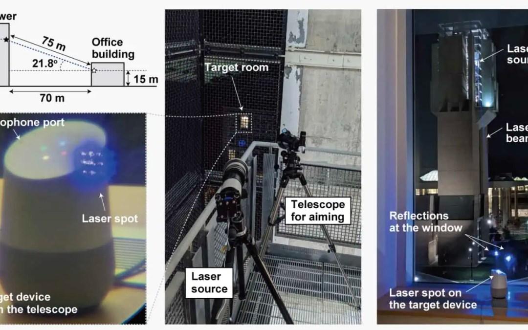 Smarta högtalare kan luras med laser
