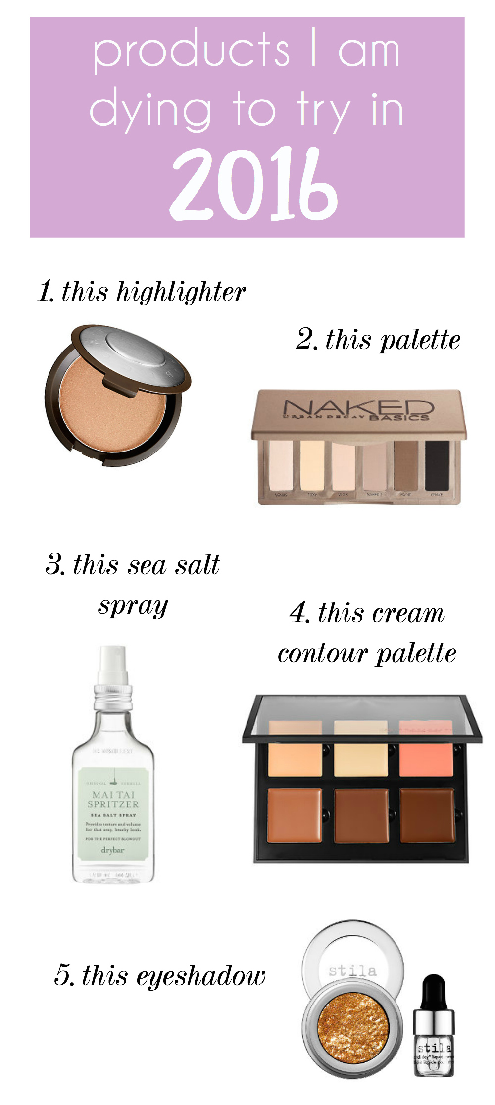 My Favorite Sephora Products of 2015 – Mackenzie Kendall