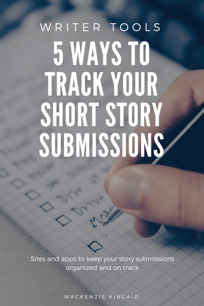 Writer Tools: 5 Ways to Track Your Short Story Submissions