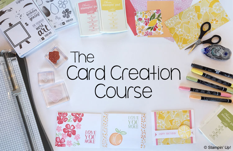 The Card Creation Course