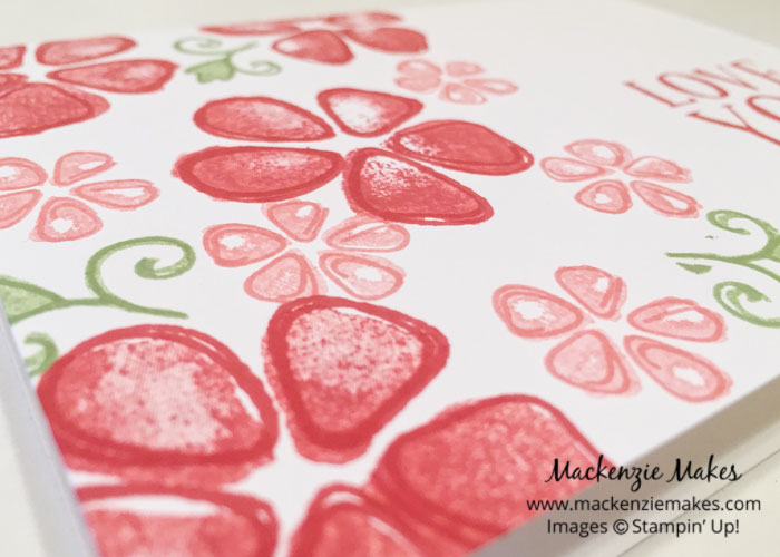 Fruit Stand Suite – Make fun and fruity cards using the Fresh Fruit stamp set and Fruit Stand DSP. | #mackenziemakes #makewithme #stampinup | www.mackenziemakes.com