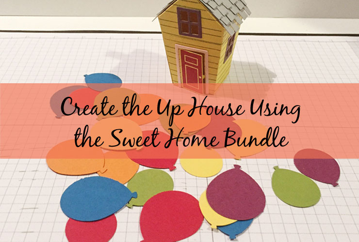 Create the Up House with the Sweet Home Bundle – An Up movie inspired house made using the Sweet Home stamp set and Home Sweet Home Thinlits Dies from Stampin Up   #mackenziemakes #makewithme #stampinup   www.mackenziemakes.com