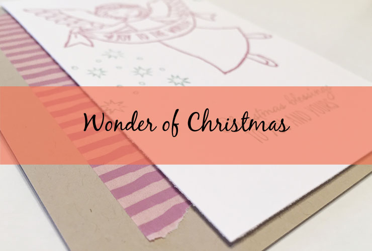Wonder of Christmas Card – Make a quick and beautiful Christmas card using the Wonder of Christmas stamp set from Stampin' Up! | #mackenziemakes #makewithme #stampinup | www.mackenziemakes.com