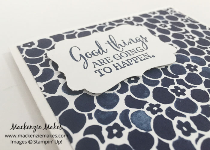 One Sheet Wonder Card Set with Floral Boutique DSP – Create 12 cards using 1 sheet of paper from the Floral Boutique Designer Series Paper pack. | #mackenziemakes #makewithme #stampinup | www.mackenziemakes.com