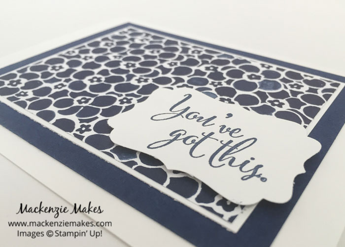 One Sheet Wonder Card Set with Floral Boutique DSP – Create 12 cards using 1 sheet of paper from the Floral Boutique Designer Series Paper pack.   #mackenziemakes #makewithme #stampinup   www.mackenziemakes.com