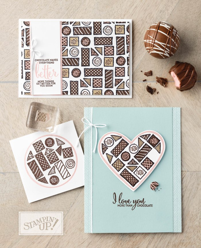 "More Than Chocolate stamp set by Stampin"" Up!"