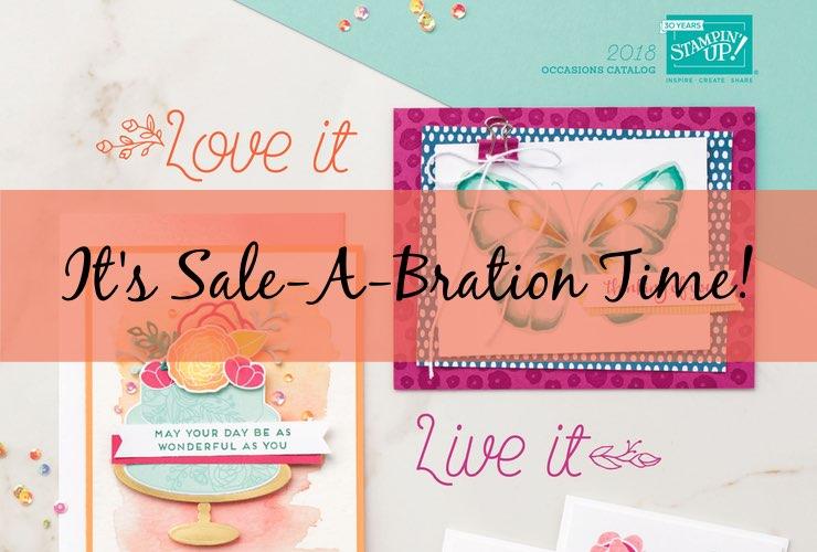 It's Sale-A-Bration Time!