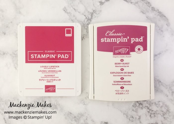 2018 Color Revamp – Click through to see the new Stampin' Up! colors and learn about the updated ink pad design. | #mackenziemakes #makewithme #stampinup | www.mackenziemakes.com